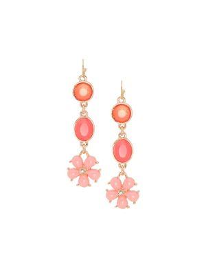 Flower drop earrings by Lane Bryant