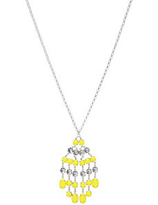 Neon fringe pendant necklace by Lane Bryant by LANE BRYANT