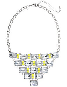 Neon pop bib necklace by Lane Bryant by LANE BRYANT