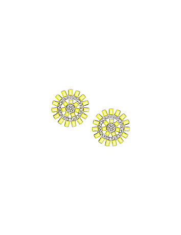 Sunburst earrings by Lane Bryant