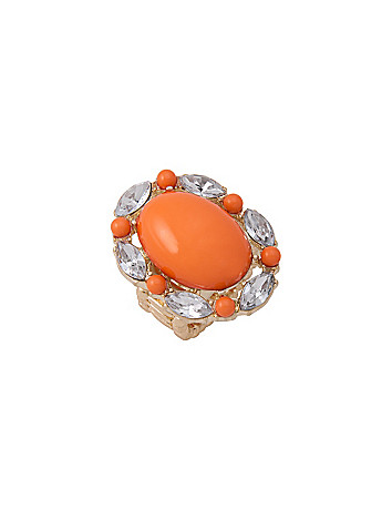 Cabochon cocktail ring by Lane Bryant