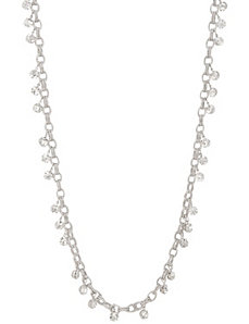 Cubic zirconium link necklace by Lane Bryant by LANE BRYANT