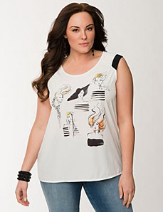 Couture girl tee by LANE BRYANT