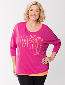 NYC embellished dolman top