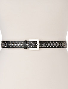 Studded belt by LANE BRYANT