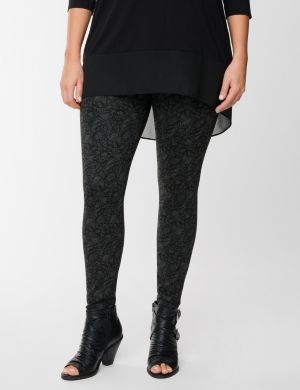 Lace print legging by Lysse