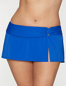 Swim skirt with ring accent by LANE BRYANT