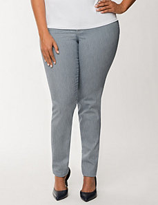 Railroad stripe skinny jean by LANE BRYANT