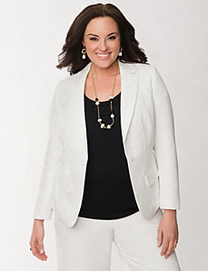 Brocade jacket by LANE BRYANT