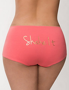 Shake It boyshort panty by LANE BRYANT