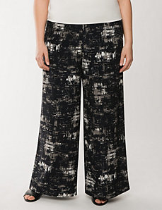 Lane Collection printed palazzo pant by LANE BRYANT