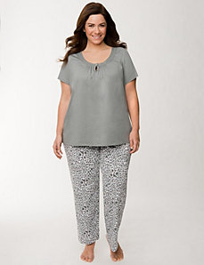 Animal print sleep set by LANE BRYANT