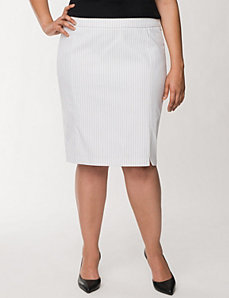 Pinstripe pencil skirt by LANE BRYANT