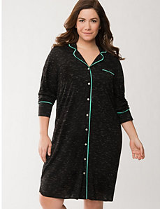 Tru to You slub sleep shirt by LANE BRYANT