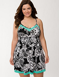 Tru to You paisley chemise by LANE BRYANT