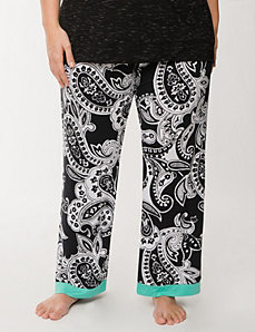 Tru to You paisley sleep pant