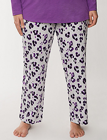 Graphic animal sleep pant