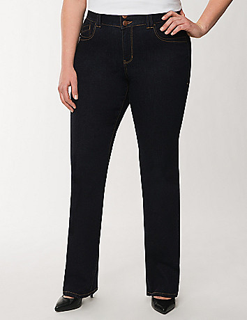 Genius Fit straight leg jean with Tighter Tummy Technology