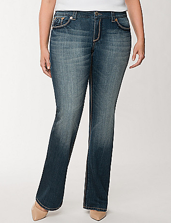 Plus Size Double Double Bootcut Jean by Seven7