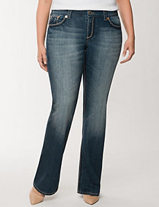 Double double boot jean by Seven7 by LANE BRYANT