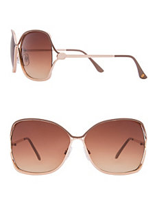 Metal frame sunglasses by LANE BRYANT