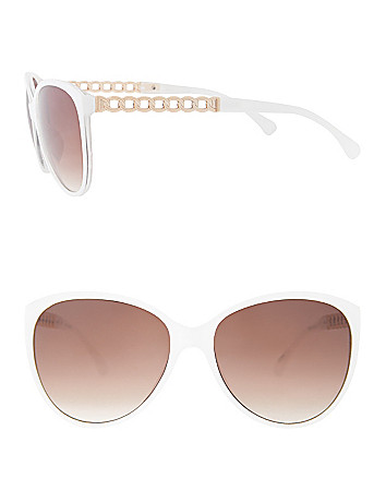 Chain accent sunglasses