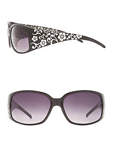 Foil accent sunglasses