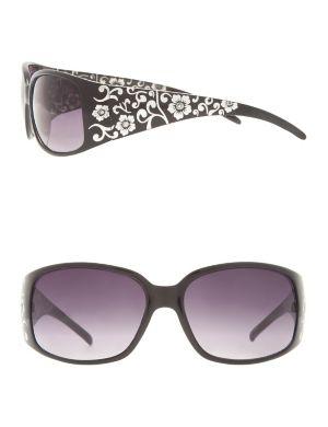 Foil accent sunglasses