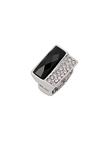 CZ & Stone Ring by Lane Bryant