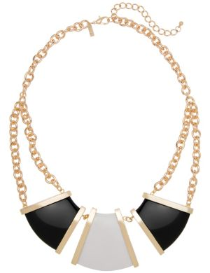 Triangle statement necklace by Lane Bryant