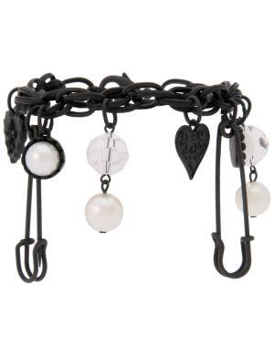 Punk charm bracelet by Lane Bryant