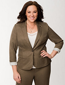 Fitted jacket by LANE BRYANT