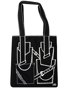 Buckle tote bag by Isabel Toledo