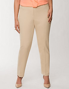 Lena Oxford weave ankle pant by LANE BRYANT