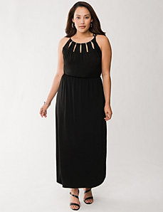 Hardware maxi dress by LANE BRYANT