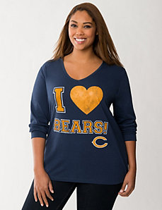 Chicago Bears hooded tee by LANE BRYANT