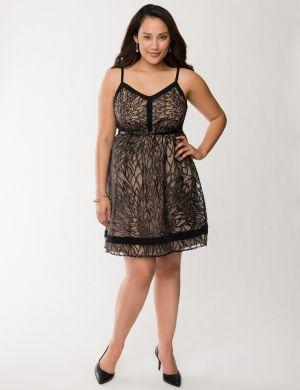 Burnout tank dress