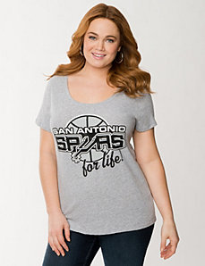 San Antonio Spurs tee by LANE BRYANT