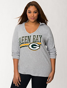 Green Bay Packers hooded tee by LANE BRYANT