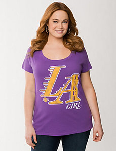 Los Angeles Lakers tee by LANE BRYANT