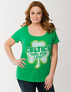 Boston Celtics tee by LANE BRYANT