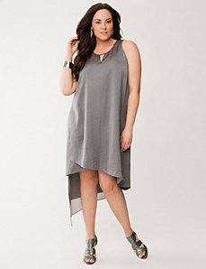 Lane Collection high-low dress