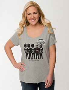 Punk guards graphic tee by LANE BRYANT