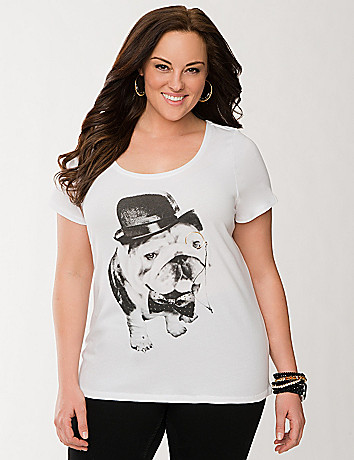 Perfect Gentleman dog tee