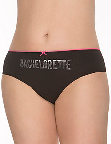 Bachelorette lace back hipster panty by LANE BRYANT