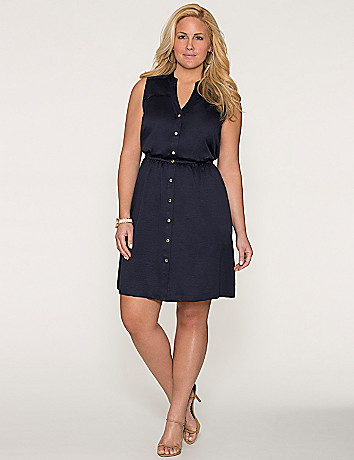 Plus Size Vest Dress