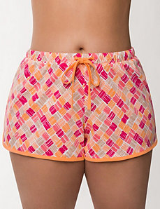 Basket weave sleep short by LANE BRYANT