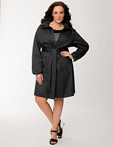 Lane Collection hooded anorak jacket by LANE BRYANT