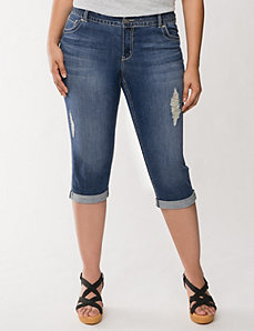 Genius Fit™ fashion capri by LANE BRYANT