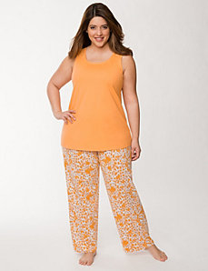 2-piece animal print sleep set by LANE BRYANT